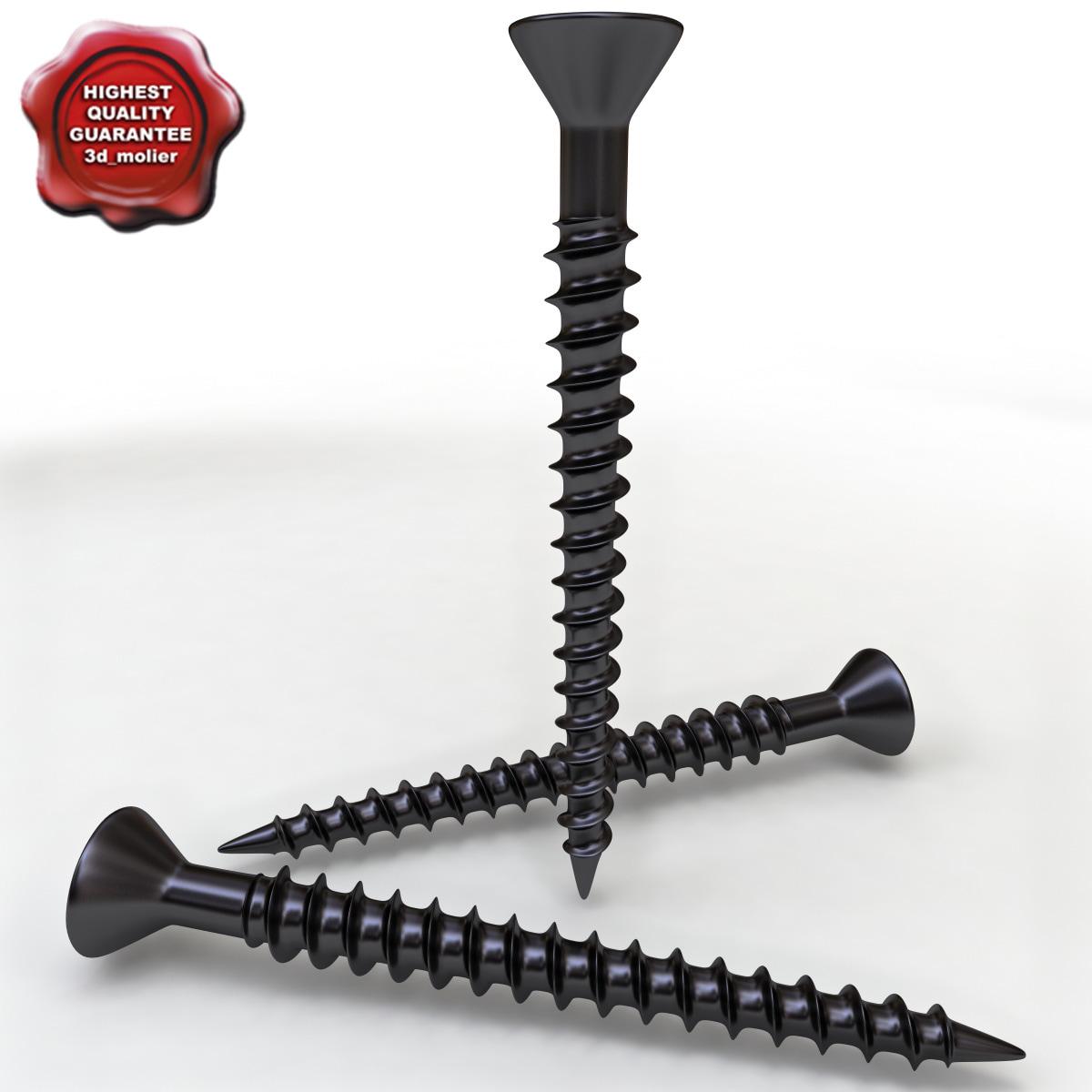 3ds max wood screw v2