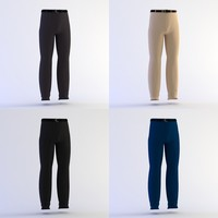 pants belt 3d 3ds