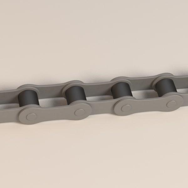 3d bike chain model