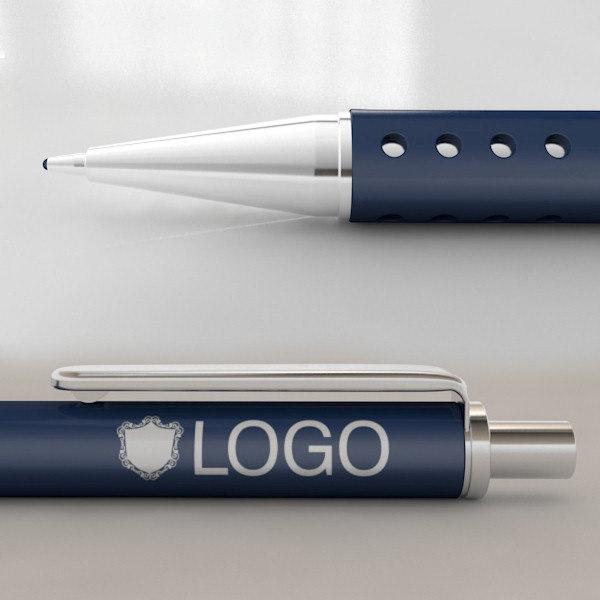 ballpoint pen c4d