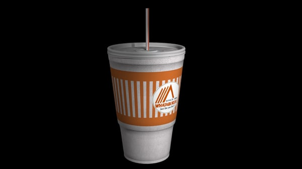 3ds max fast food cup