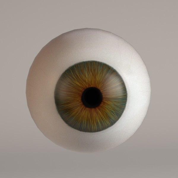 3d 3ds human eye