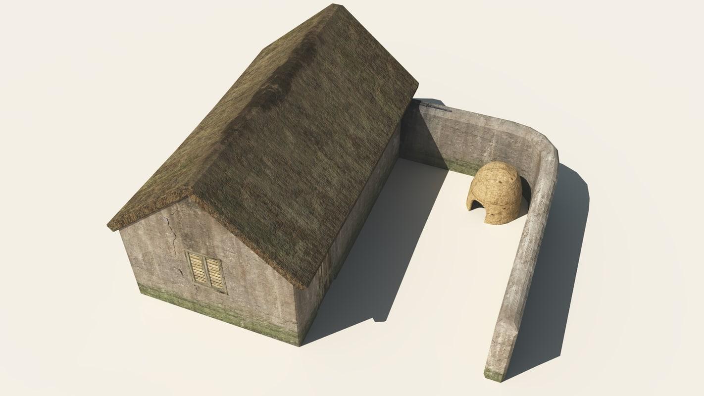 potters house 3d obj