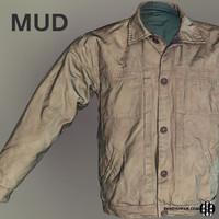 Male Jacket Mudbox 3D Scan