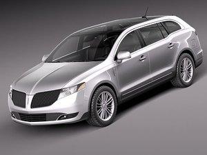 3d model mkt 2012 suv luxury