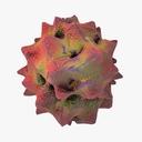 Llarvirus 3D models