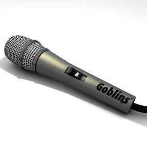c4d microphone