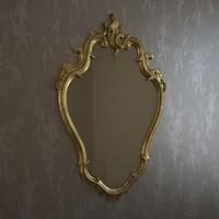 3d frame mirror miror model
