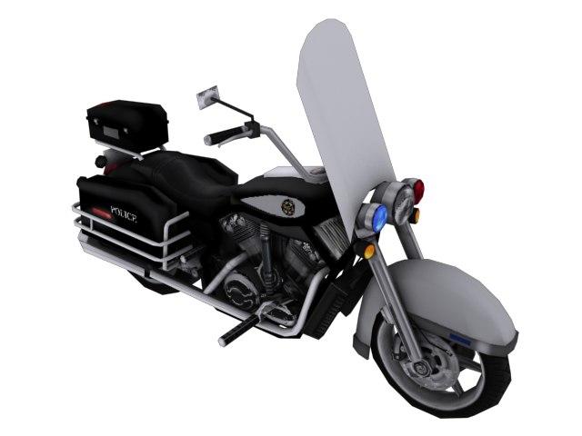 3d moto cop model