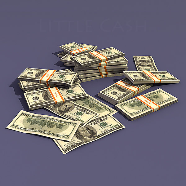 dollar money 3d model