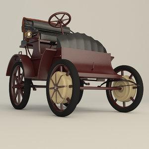 3d porsche car electric model