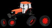 Kubota 108 Tractor