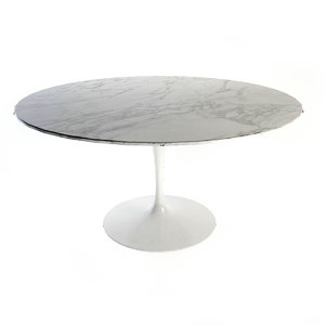 3d knoll saarinen dining table model