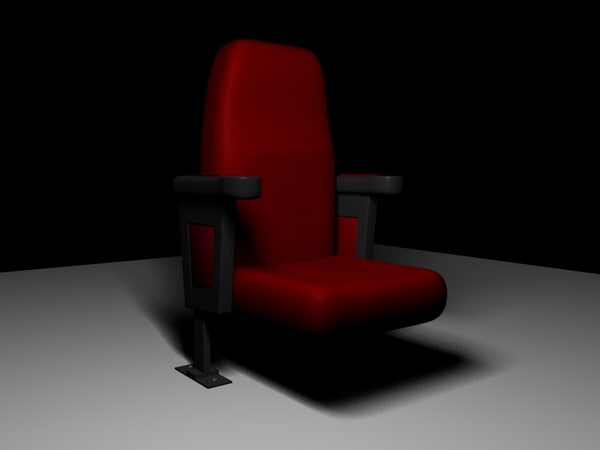 3d model seat chair sofa