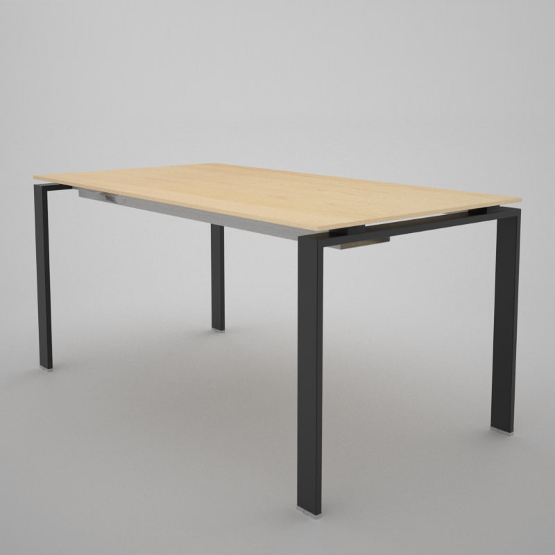 office table 3d c4d