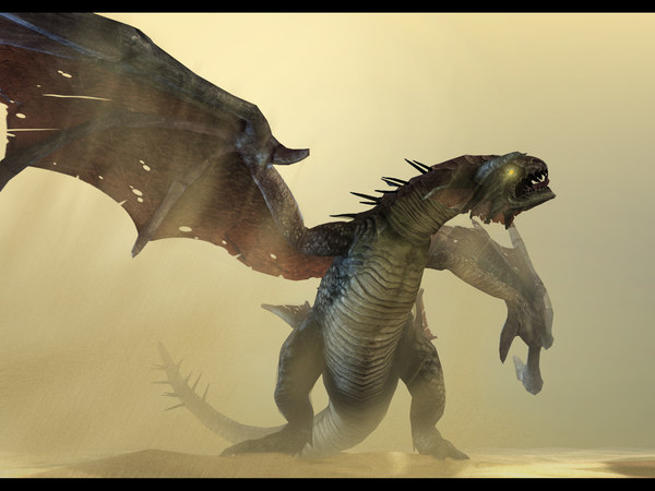 3ds max dragon monster