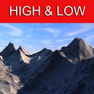 max terrain landscape mountains
