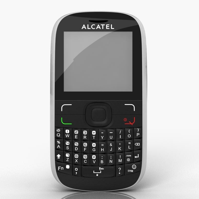 3dsmax alcatel ot-385 cell phone