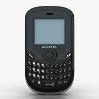 alcatel ot-355 cell phone 3d max