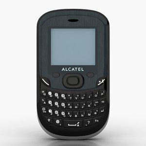 alcatel ot-355 cell phone 3d max