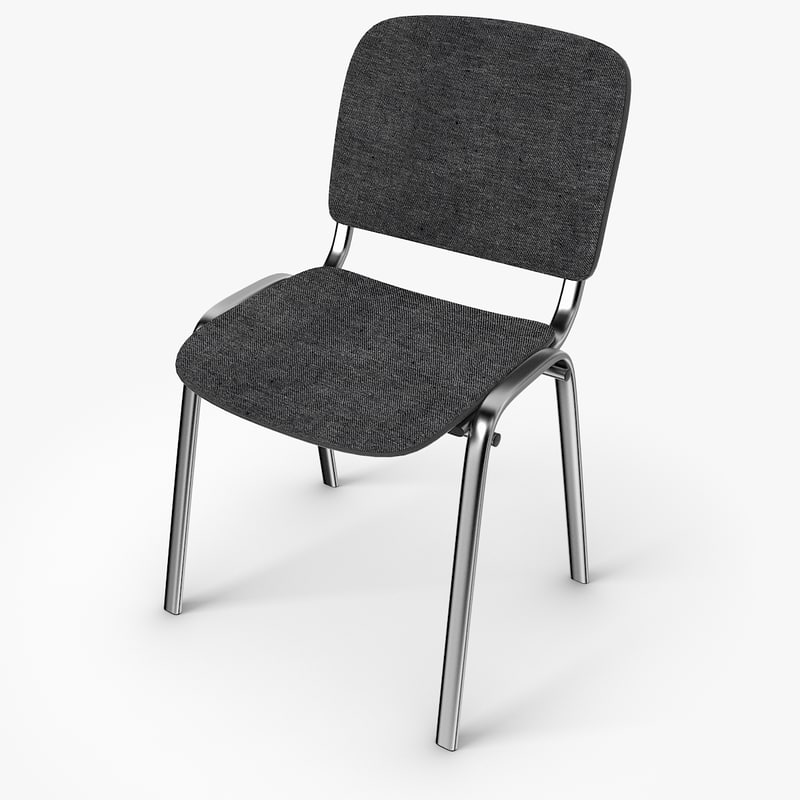 3d office chair iso