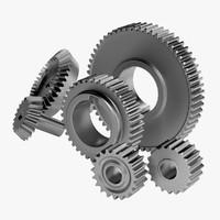 6 Gears Set