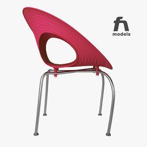 3d ripple chair moroso model