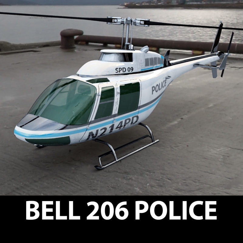 max bell 206 helicopter