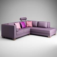 cgaxis violet corner sofa max