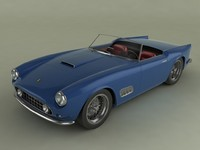 3d ferrari 250 gt california model