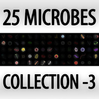 Collection of 25 microbes - set 3