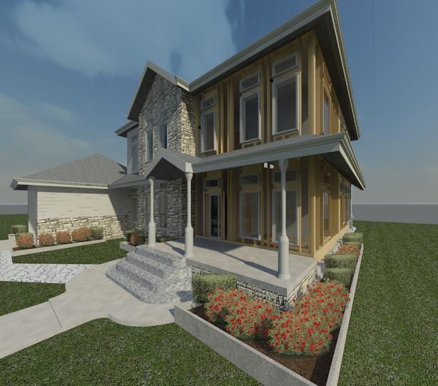25 Exceptional Carriage House Conversions: 3d Revit Bedroom Modern Colonial Model