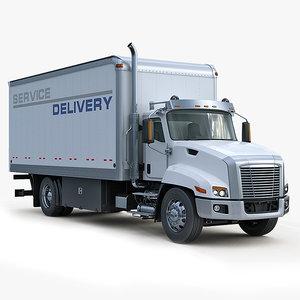 3ds max truck box - service