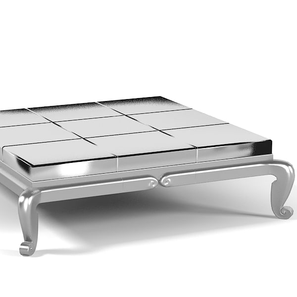 Elledue Thais At401 Art Deco Classic Coffee Table Low Modern
