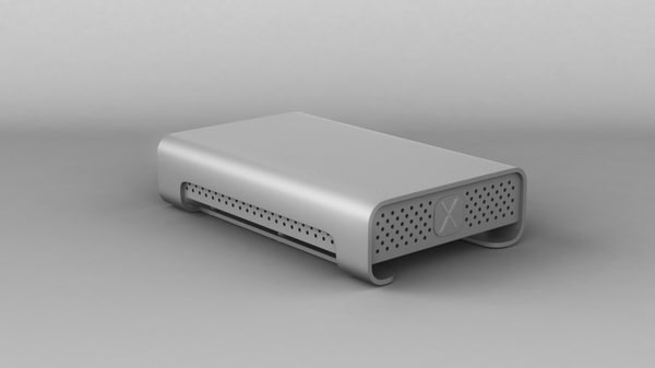 3d obj external hard drive