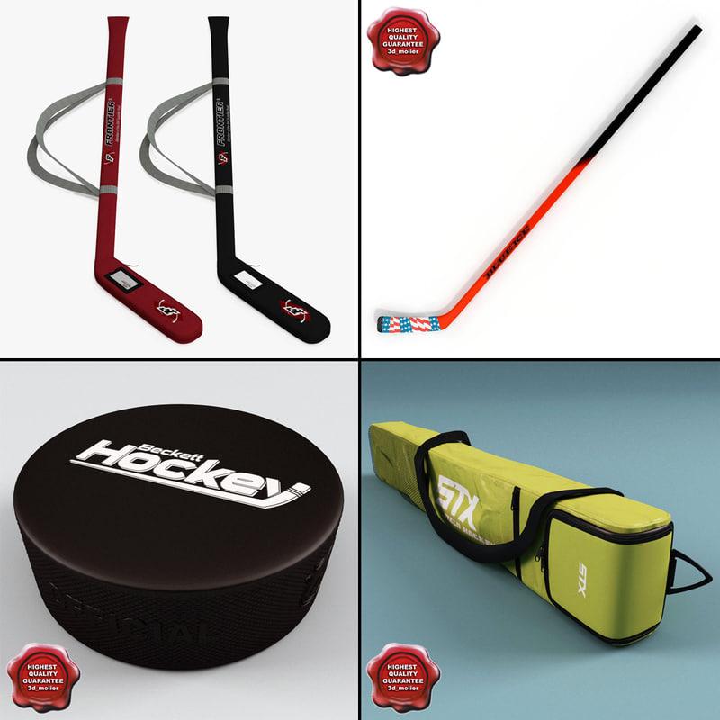hockey stick v5 3d model