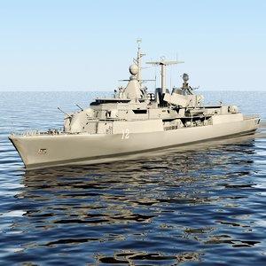 3d model meko 360 frigate