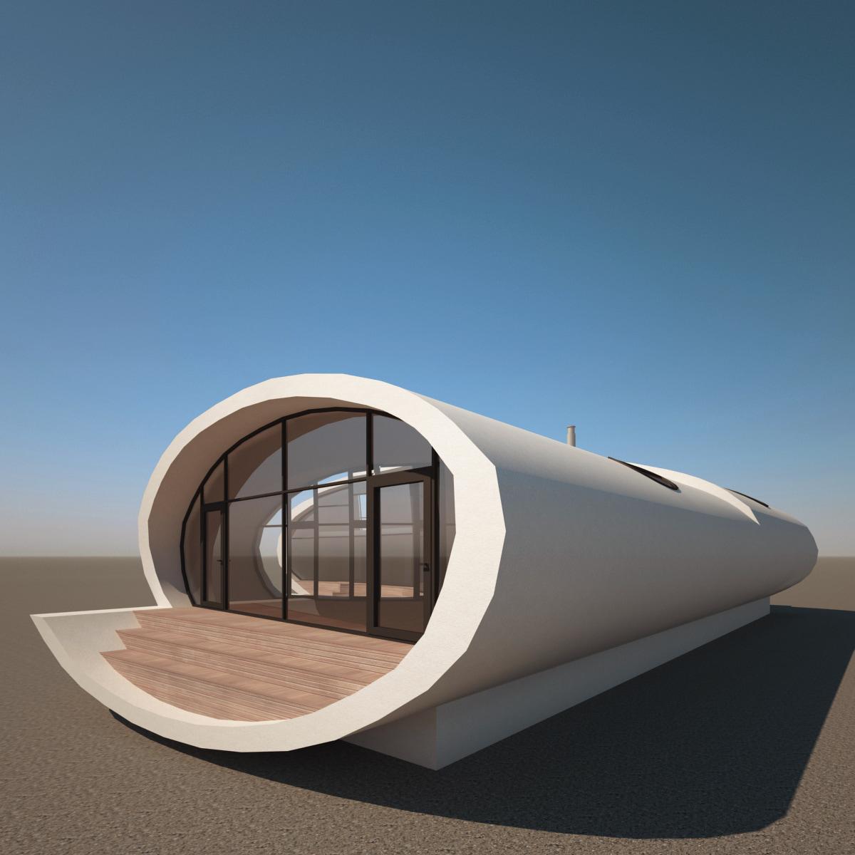 lwo realistic modern house v4