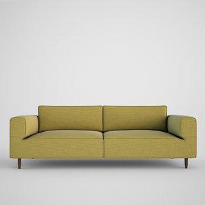 boconcept arco sofa 3d model