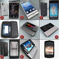 c4d sony ericsson phones v1