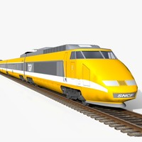 super fast train 3d 3ds
