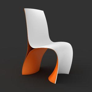 3d skin chair ron arad