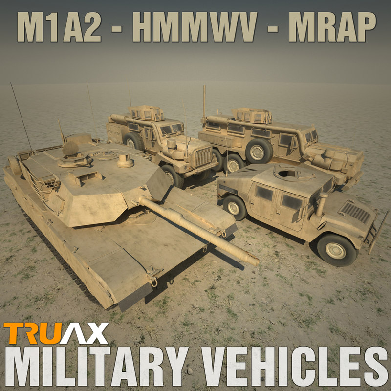 max vehicle m1a2 tank mrap