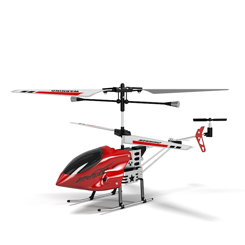 3ds toy rc helicopter