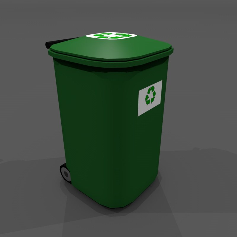 3dsmax trash container