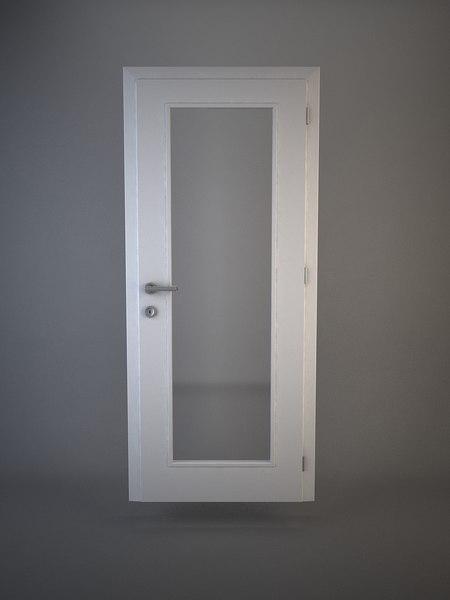 door doorframe 3d model