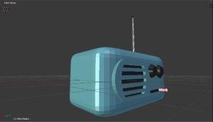 free obj mode retro radio