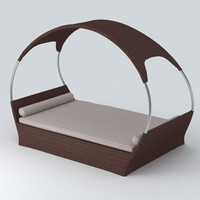 3d model garden bed