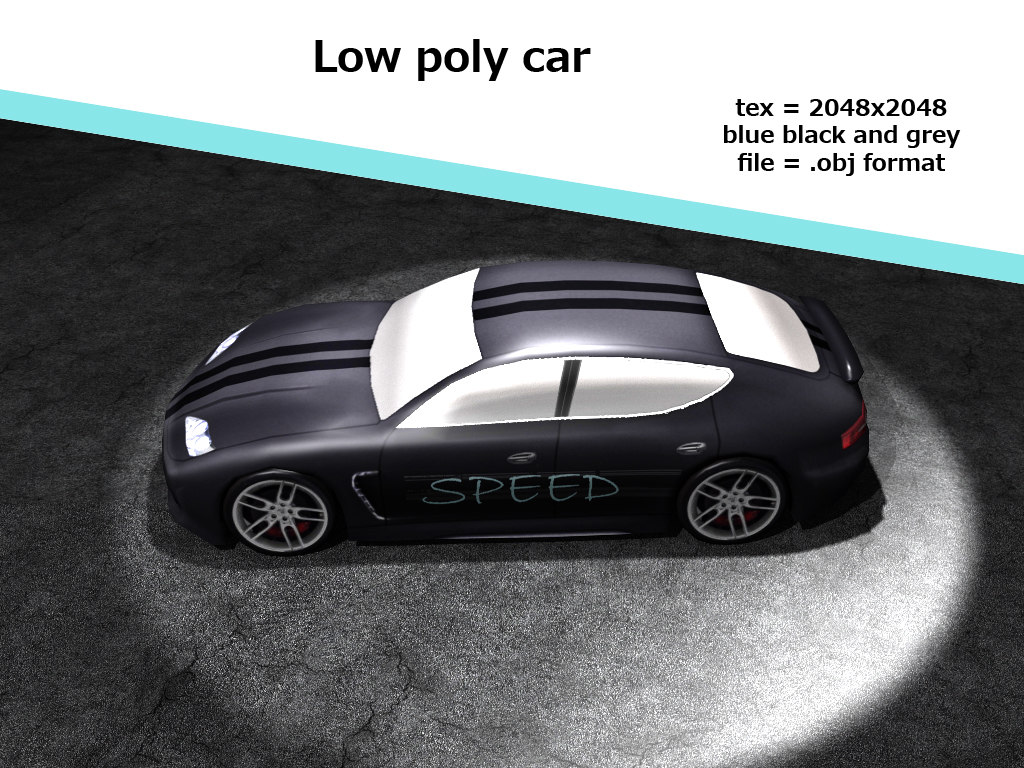 3d car games model