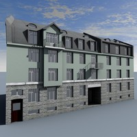 building tallinn 3d model